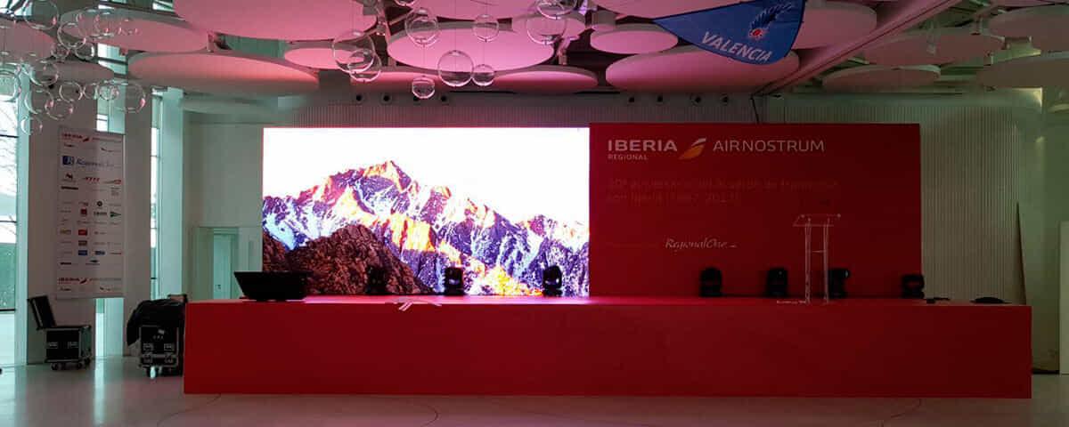Evento corporativo - 20 aniversario alianza Iberia-AirNostrum